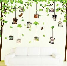 Memory Photo Frame Tree Wall Stickers DIY Family Tree Wall Decal Photo Wallpaper