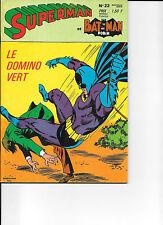 5 octobre 1970  SUPERMAN BATMAN 22 état proche NEUF