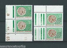 PRÉOBLITÉRÉS - 1964-69 YT 123 paires - TIMBRES NEUFS** LUXE