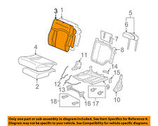 Hummer GM OEM 05-07 H2 Third Row Seat-Seat Back Cover 19127908
