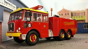1:76 OO/00 Thornycroft Nubian Airport Airfield Crash Rescue Fire Engine Bristol
