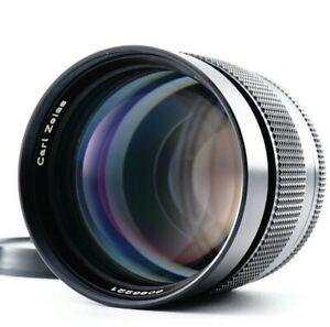 Excellent+5 Contax Carl Zeiss Planar T 85mm F/1.4 AEG Portrait Lens From JAPAN
