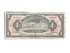 El Salvador 1 Colon 1947 Condition XF