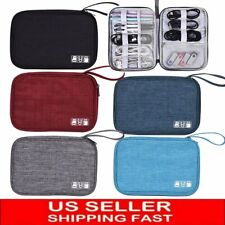 Electronic Accessories Usb Cord Charger Cable Organizer Bag Travel Storage Case