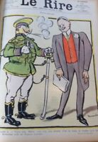 Original LE RIRE Cover Lithograph 1905 Illustrated By Jeanniot