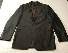 Steve Harvey Sport Coat Blazer Brown 2 Button Dual Vent Jacket King Mens 48