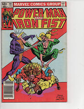 Power Man & Iron Fist #84 (8/82) VG/F (5.0) 4th Sabretooth! Great Bronze Age!