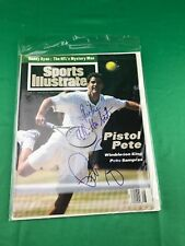 Pete Sampras Tennis Signed Sports Illustrate Cover