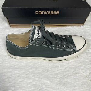 All Star GREEN Converse Size 9 Mens / 11 Women's Low Top Canvas Sneaker Shoes