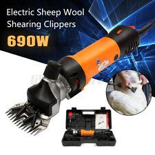Us 690W 110V Electric Sheep Goat Animal Clipper Groomer Shears Shearing Machine