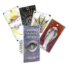 63pcs English Tarot Deck The Wild Unknown Animal Spirits Guidebook Board Game