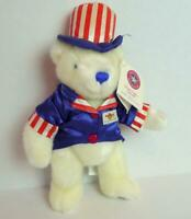Hard Rock Cafe San Francisco Uncle Sam Bear 4th of July 2001 Patriot Collectible