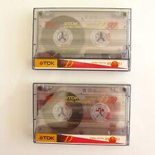 Lot de 2 Cassettes TDK D 60mm - IECI  K7 Vierges -
