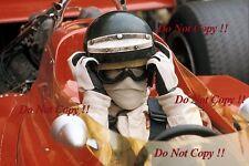 Jochen Rindt Gold Leaf Team Lotus F1 Portrait 1970 Photograph 3