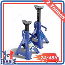 Chandelles de Levage à Crémaillères Michelin Cric Voiture Automobile Goupilles 2