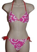 Hot Water pink triangle bikini size M swimsuit new