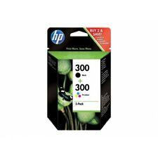 HP 300 Combo Pack Confezione Cartucce Originali Inchiostro Nero e Tricromia