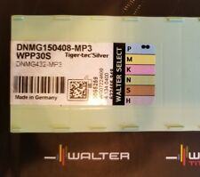 Walter DNMG 432 / 150408 MP3 WPP30S Carbide Turning Inserts BRAND NEW 10 PACK