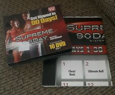 Get Ripped In 90 Days Supreme 90 Day System 10 DVD Set As Seen - FAST SHIPPING