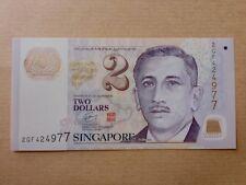 Singapore $2 Polymer Education (PERFECT UNC)