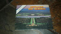 OLD AUSTRALIAN POSTCARD VIEW FOLDER. FROM 1980s THE WAR MEMORIAL CANBERRA ACT