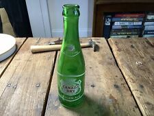 Vintage Canada Dry 7 oz. Ginger Ale Bottle Greensboro Nc