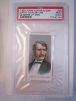 1925 DAVID LIVINGSTONE #29 LEADER'S OF MEN PSA GRADED 9 OC -TOBACCO CARD -MMMM2