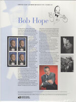 SSS: USPS 2009 Commemorative Panel #836   Bob Hope    Sc #4406