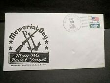 USS RALEIGH LPD-1 Naval Cover 1970 MEMORIAL DAY Cachet