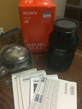 Sony E-mount Full Frame SEL 24-240mm f/3.5-6.3 IF AF OSS Lens