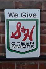 S&H Green Stamps SIGN Sperry and Hutchinson Company Sinclair Gas 50s 60s 70s