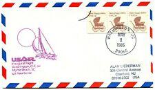 USAir First Flight Washington DC - Myrtle Beach South Carolina - 1985