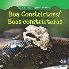 Boa Constrictor  Boa Constrictora (Killer Snakes  Serpientes Asesinas)-ExLibrary