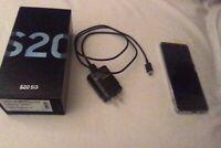 Samsung Galaxy S20 5G SM-G981U1 - 128GB - Cloud Blue (Unlocked) (Single SIM)