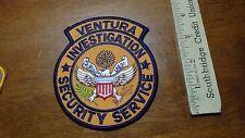 VINTAGE Ventura Mercy Investigations Coral Gables  OBSOLETE PATCH  bx 11 #27