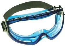 Jackson Safety* V80 Monogoggle XTR, Blue Frame, Clear Lens - JAK18624