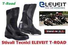 Stivali Touring Tecnici con Protezioni ELEVEIT Modello T-ROAD Black/Nero Num. 43
