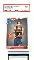 2018 Donruss Atlanta Hawks RC Star TRAE YOUNG Rookie Basketball Card PSA 9 MINT