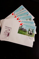 Laos Stamps 1981 14 Panda S/S Cachet Unaddressed First Day Covers