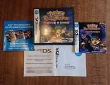 Pokemon Mystery Dungeon Explorers Darkness Manual Case Inserts ONLY NO GAME DS