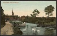 West Sussex. Chichester. Chichester From The Canal - Vintage Printed Postcard