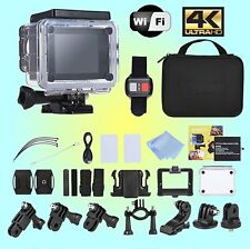 Campark Ultra4k HD Action Camera 2.4G Remote Control - Waterproof to 30M - WiFi