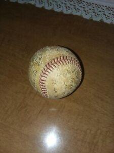 1953 New York Yankees Souvenir Stadium Baseball