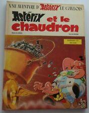 ASTERIX et le Chaudron Uderzo Goscinny N°13 EO 1969 Bon Etat DARGAUD