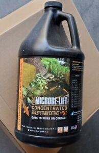 microbe lift barley straw extract pond peat 1 gallon