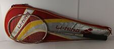 LI-NING Badminton Racket G-TEK 38 with Case Pearl Gold AYPG374-1 GREAT CONDITION