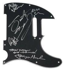Dangerous Toys REAL SIGNED Guitar Pickguard #2 COA w/ Lyric Inscription