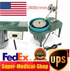 Gem Faceting Machine Gemstone Grinding Machine Jewelry Lapidary Machine US