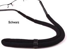 Brillenband schwimmfähig Schwarz Brillenkordel für Wassersport.