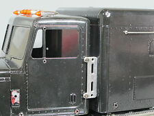 New Alum Exhaust Stack Relocate Mounting Plates Tamiya 1/14 King Grand Hauler